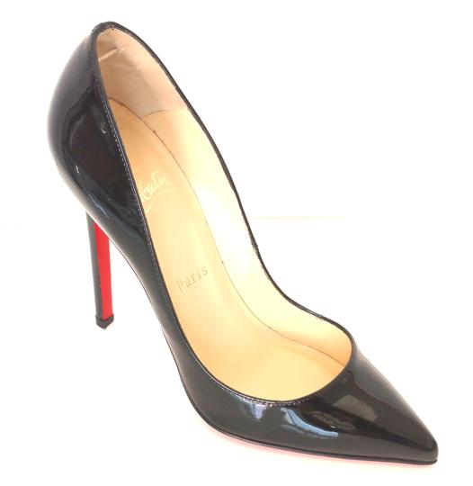 Christian Louboutin Old Pigalle 120mm Patent Leather 36 Black Pumps