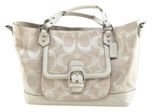 Coach Fashionista Casual Leather Shoulder Bag