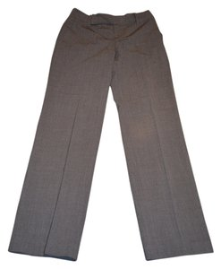 Banana Republic Dark Pinstripe Classy Harrison Fit Trouser Pants Grey