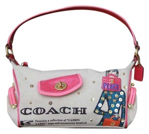 Coach Limited Edition Studded Cashin Carry Baguette