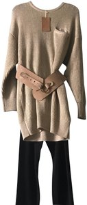 Twelfth St. by Cynthia Vincent Twelfth Street By Cynthia Vincent Wide Suede Belt Nude Taupe