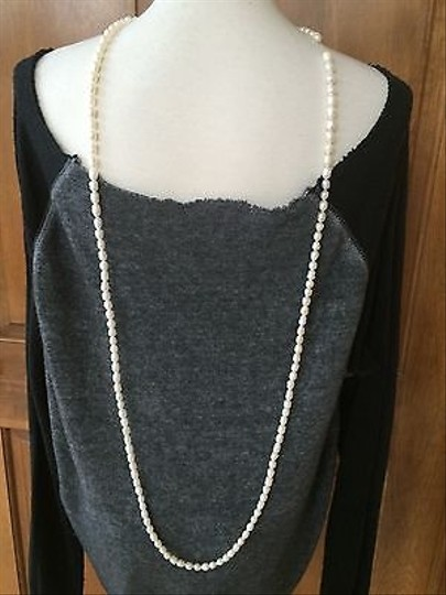 Other Pearl Necklace 55 Long Single Double Or Triple Strand Of Fresh Water Sea Pearls