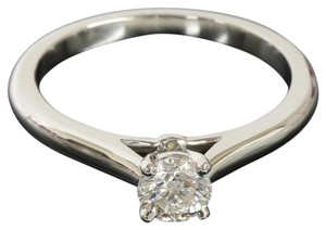 Cartier CARTIER Platinum PT950 1895 Solitaire Diamond Ring
