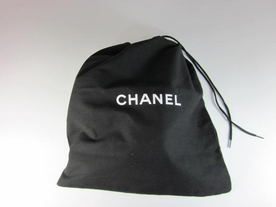 Chanel Leather Cc Logo navy blue and white Sandals