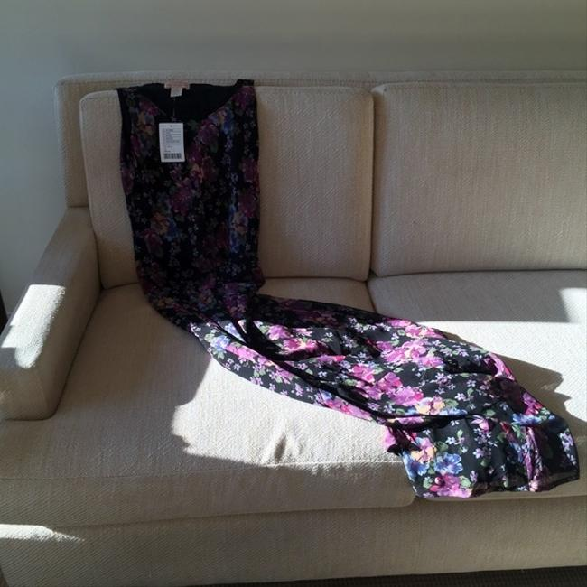 Multi-colored Maxi Dress by Urban Outfitters Floral Chiffon