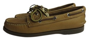 Sperry Topsider 2-eye Boat Leather Boat Sahara Flats