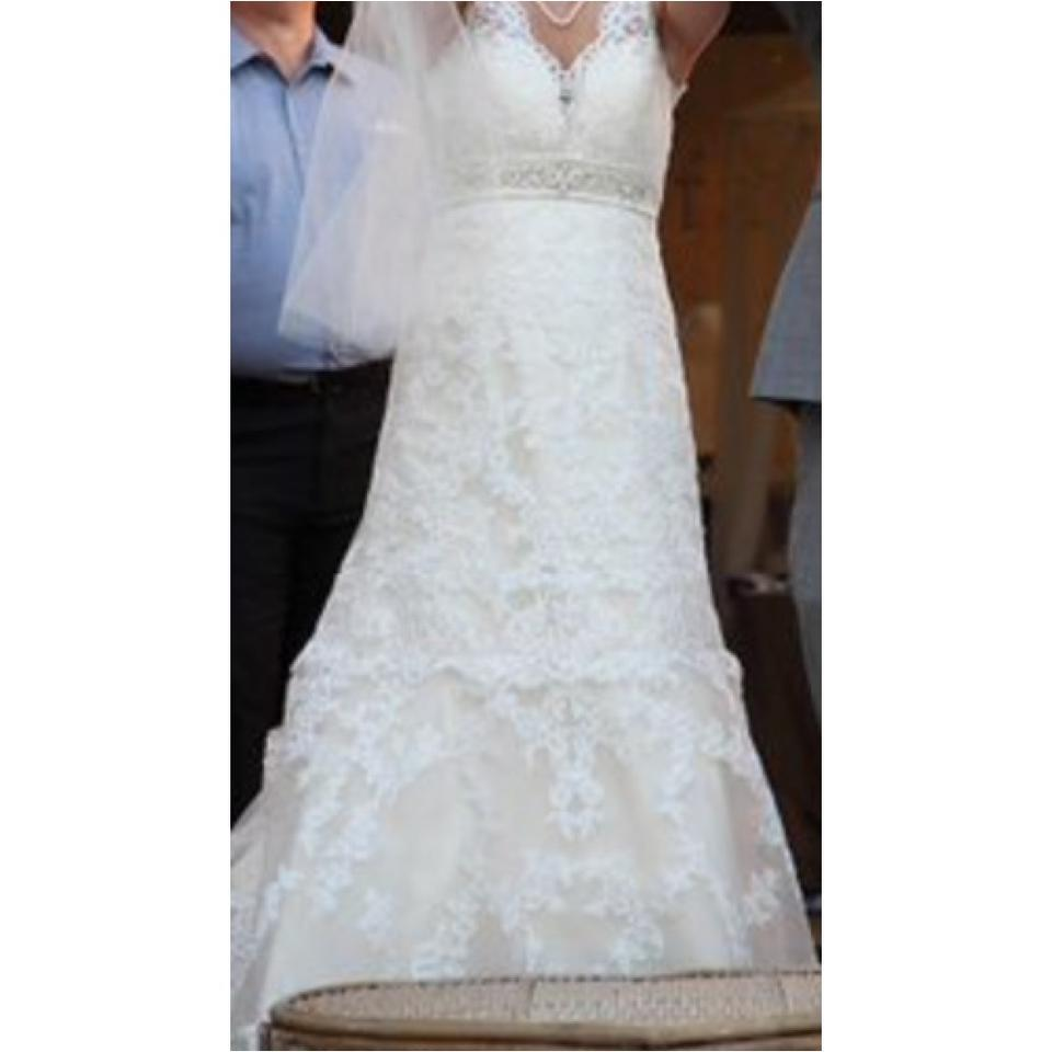 Allure bridals wedding dress on tradesy for Best way to sell used wedding dress