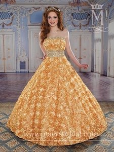 Mary's Bridal PEACH 4q825 Dress
