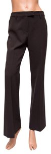 "Gunex Italian Wool 29.5"" Inseam 10"" Rise Creased Trouser Pants Brown"