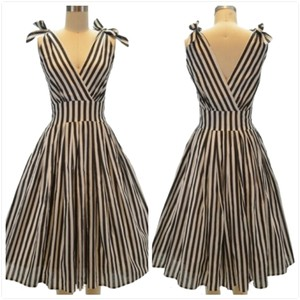 Aryeh short dress Stripe on Tradesy