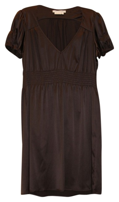 To the Max short dress Brown V Neck on Tradesy