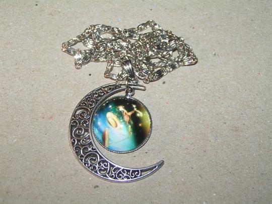 Other BOGO Universe Glass Cabochon Pendant Silver Necklace Free Shipping