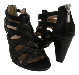 Nine & Co. Chunky Strappy Black Sandals