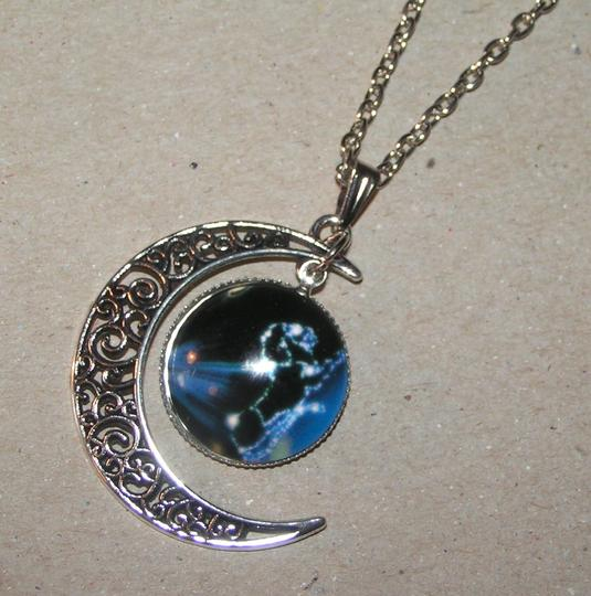 Other BOGO Glass Cabochon World Eclipse Necklace Free SHipping