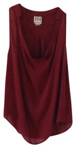 Haute Hippie Top Garnet