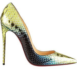 Christian Louboutin Stunning Mermaid Ombre Pumps