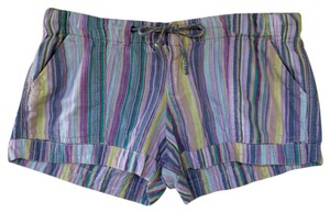Mossimo Supply Co. Drawstring Tightens Ties Two Mini/Short Shorts Multi-colored