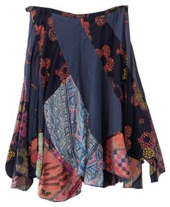 Chaudry Skirt Blue