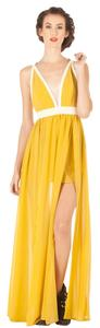 Yellow Maxi Dress by Keepsake the Label Gown Gown
