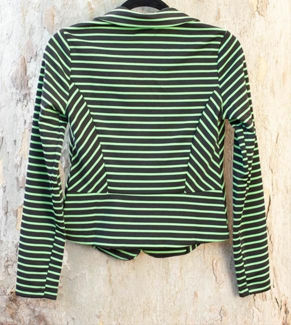 Other Striped Chartreuse chartreuse/black stripes Jacket