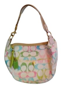 Coach Designer Fabric Shoulder Bag