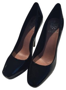 Vince Camuto Patent Leather Black Pumps