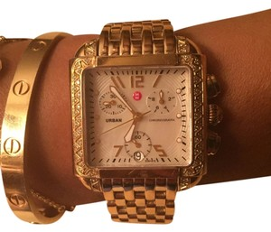 Michelle urban gold watch with diamonds Michelle watch
