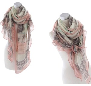New design Paris Print Scarf