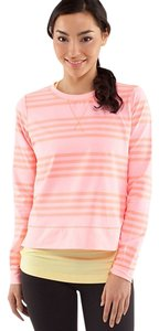 Lululemon Crewneck Striped Fitness Running Sweater