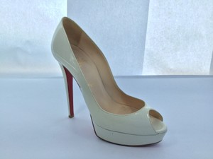 Christian Louboutin 130mm Ivory Pumps