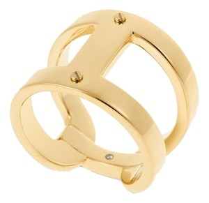 Michael Kors SET-Logo Studs & Polished 'H' Size 7 Ring
