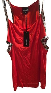 Just Cavalli Top Orange-red