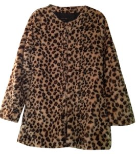 Love Tree Leopard Print Jacket