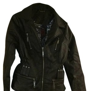 Jou Jou Blac Leather Jacket