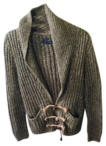Ralph Lauren Black Label Toggle Cardigan Cozy Sweater