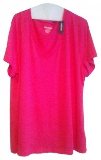 Preload https://img-static.tradesy.com/item/5987/old-navy-bright-pink-casual-comfortable-tee-shirt-size-16-xl-plus-0x-0-0-650-650.jpg