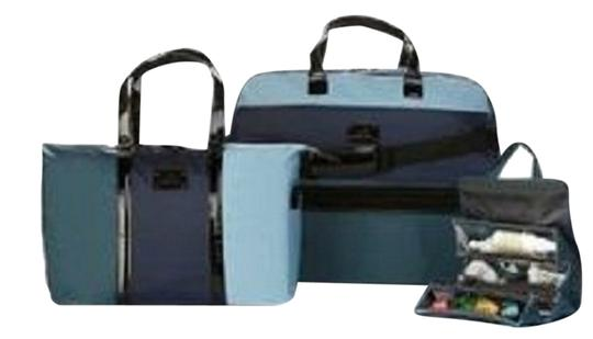 Preload https://item3.tradesy.com/images/joy-mangano-blue-and-black-travel-bag-5988067-0-0.jpg?width=440&height=440