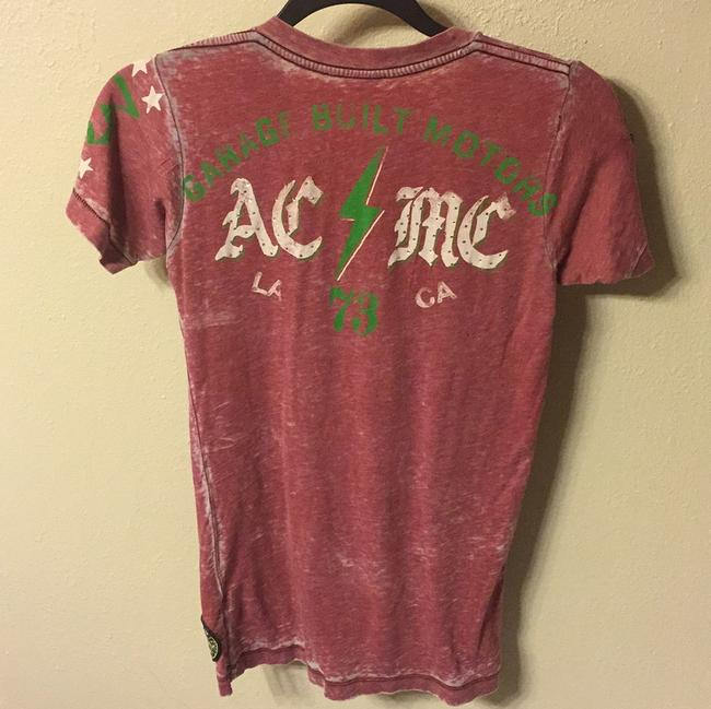 Affliction T Shirt Red