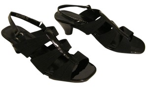 Karen Scott Strappy Black Sandals