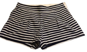 J.Crew Dress Shorts Blue and white