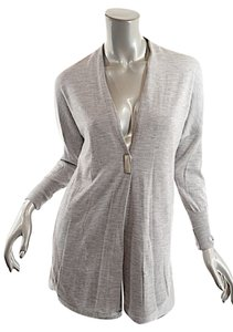 Brunello Cucinelli Cashmere Tunic Sweater Coat Lined Cardigan