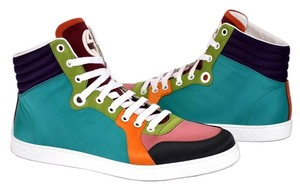 Gucci Men's Sneaker Men's Sneaker Men's Men's Sneaker Sneaker Men's Sneakers Men Mens Color Block High Top Multi-Color Athletic