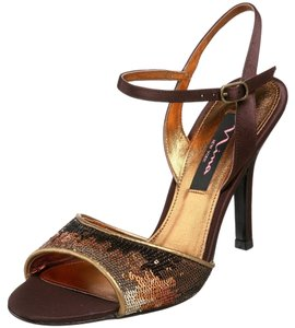 Nina Sequin Brown/ Sandals