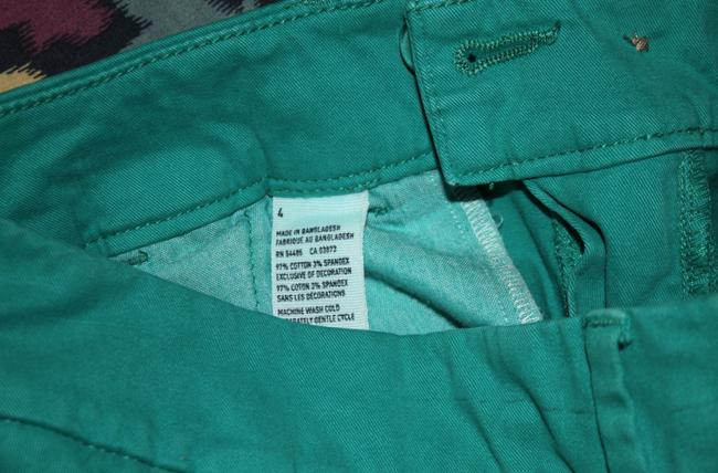American Eagle Outfitters Cuffed Shorts Teal