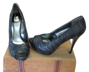 Worthington New Excellent Condition Black Platforms