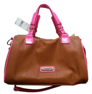 Steve Madden Satchel in brown/pink