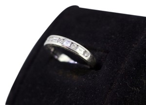 Tiffany & Co. * Tiffany & Co. Ladys Platinum Diamond Wedding Ring Band - Size 6