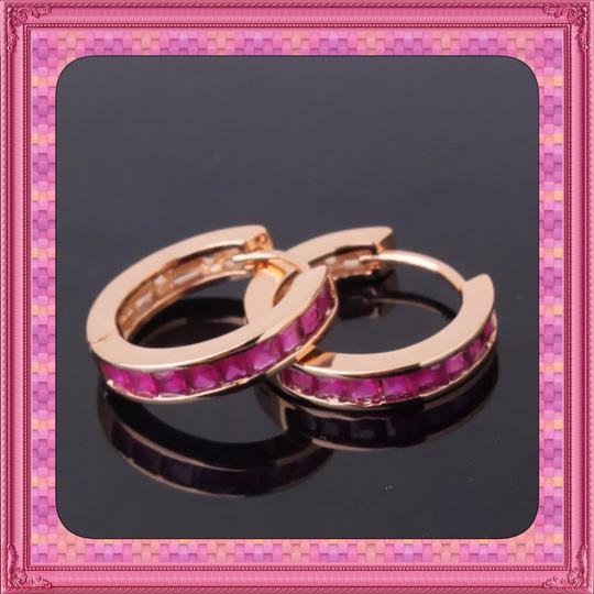 Other Brand New Pink & Rose Gold Hoop Earrings