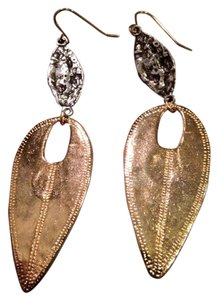 Devon Leigh gold electroplated designer earrings