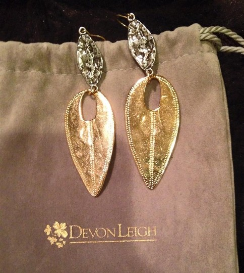 Other Devon Leigh gold electroplated designer earrings